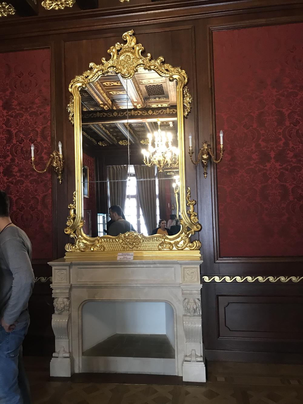 Очень крутое зеркало