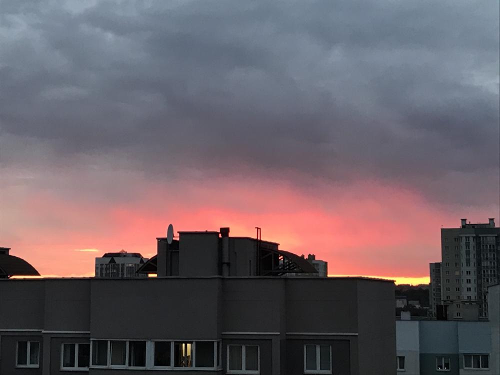 ... и там же встречали закаты